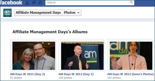 Hundreds Affiliate Management Days SF 2012 Photos Uploaded