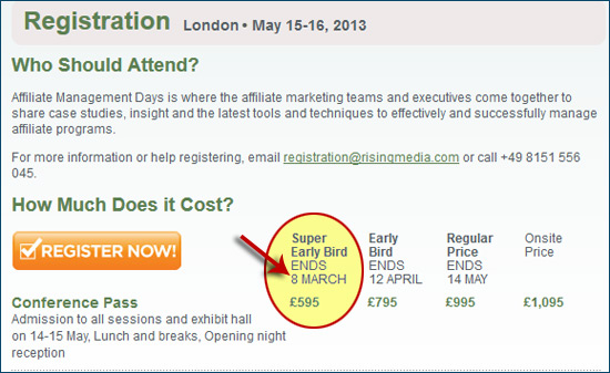 Hurry – AM Days London 2013 Super Early Bird Ends Friday, March 8