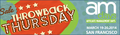 Throwback Thursday Sale: Early Bird Rate Is Back, But Not For Long!