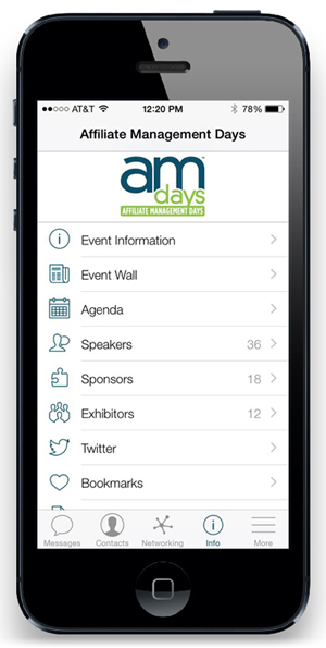 Launch of AM Days 2015 Mobile App for Networking and More