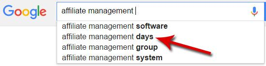 AM Days – Top Reference Point on Affiliate Management