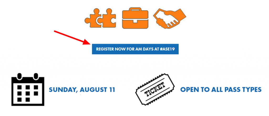 How to Register for AM Days Workshops at Affiliate Summit East 2019