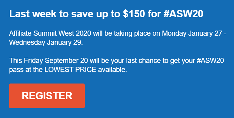 Save Hundreds with AM Days West 2020 Super Early Bird Rates