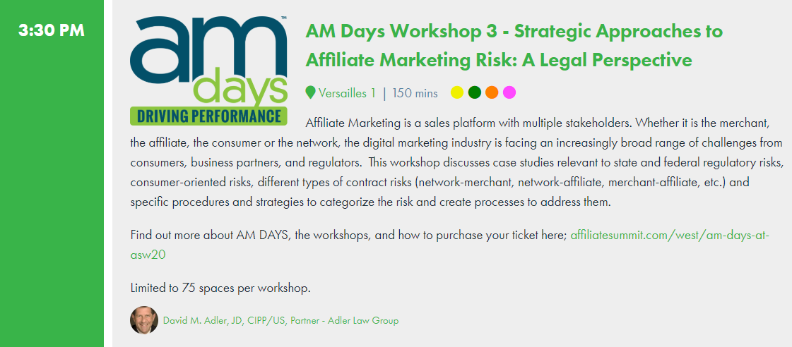 Strategic Approaches to Affiliate Marketing Risk: A Legal Perspective
