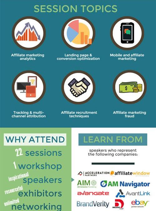 Affiliate Management Days 2016: Conference in an Infographic